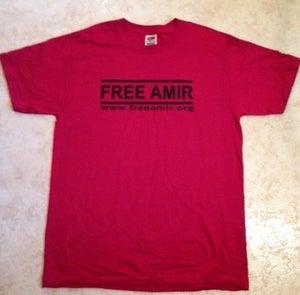 "Image of ""Free Amir"" Awareness Tee"