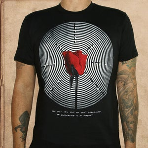 Image of Looking for Alaska - discharge ink - unisex - restocked