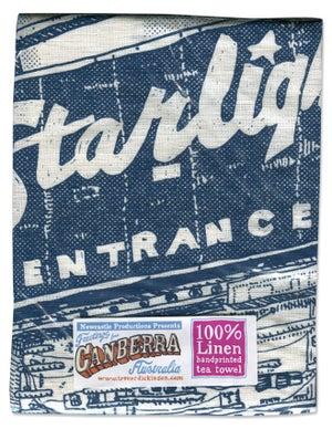 Image of Starlight Drive-in Memorial Tea Towel