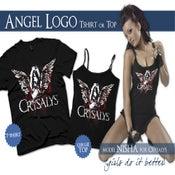 Image of Angel Top Black (New Printing)