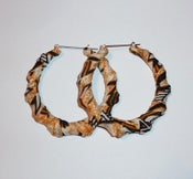 Image of Bamboo Hoops African Style