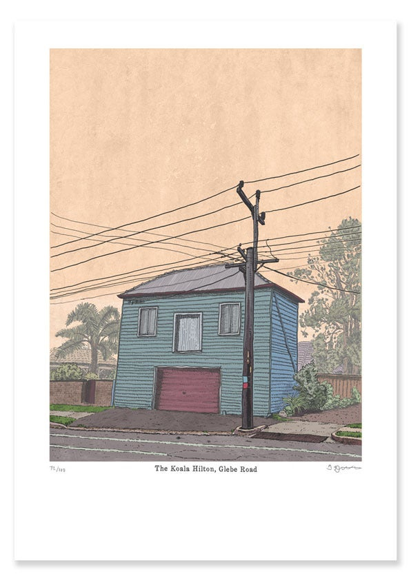 Image of Glebe Road Limited Edition Digital Print