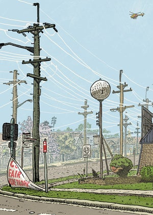 Image of Griffiths Road Limited Edition Digital Print