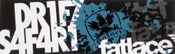 Image of Drift Safari x Fatlace Collab Sticker - NUMB3R5