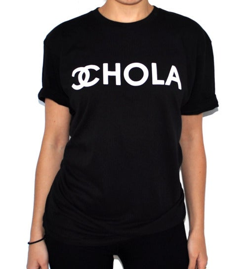 Image of HOLA CHOLA BOYFRIEND TEE