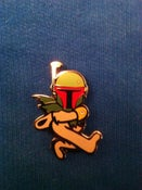 Image of Boba Fett pin