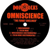 """Image of OMNISCIENCE """"THE FUNKY ONE LINER"""" EP ***SOLD OUT***"""