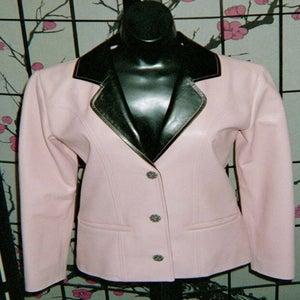 Image of Pastel Leather Jacket