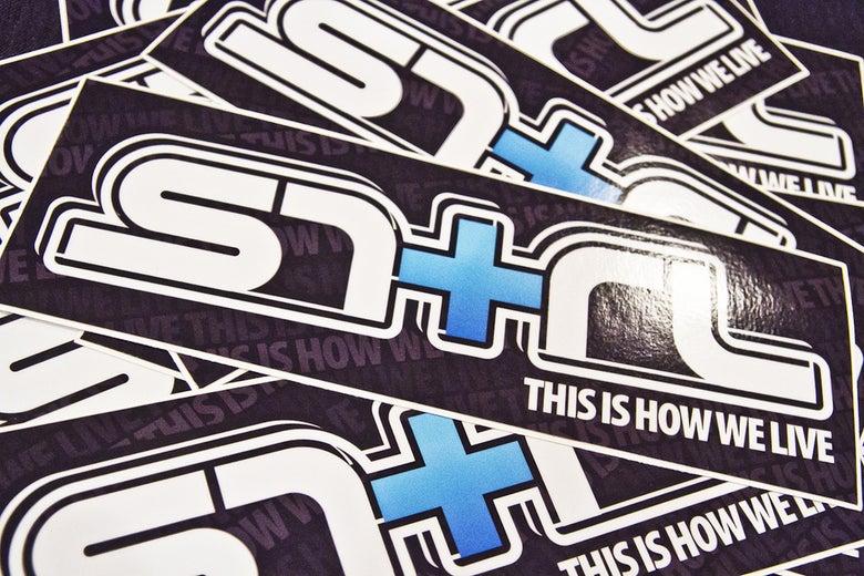 Image of SNTRL TIHWL Box Sticker