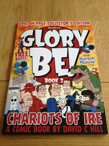 Image of Glory Be! Book 2 – Chariots of Ire (2012) Special signed and numbered limited edition