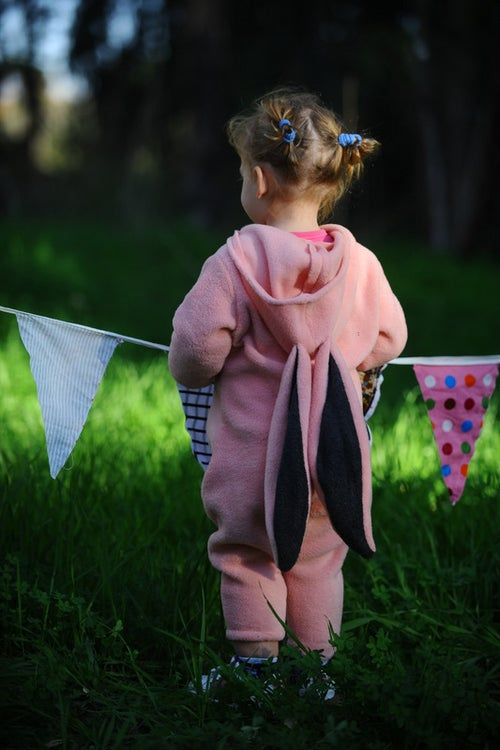 Image of Pink Bunny Costume  תחפושת ארנב ורוד