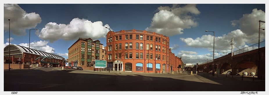Image of Manchester Hacienda panorama print or canvas