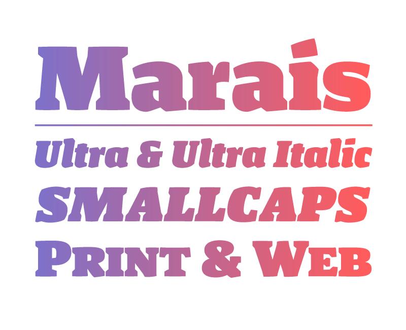 Image of Marais Ultra + Ultra Italic + Web