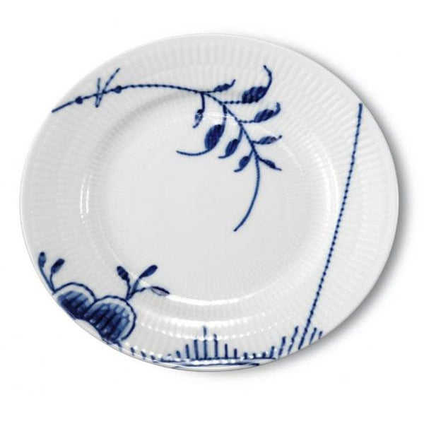 Image of Blue Fluted Mega -- Bread Plate II