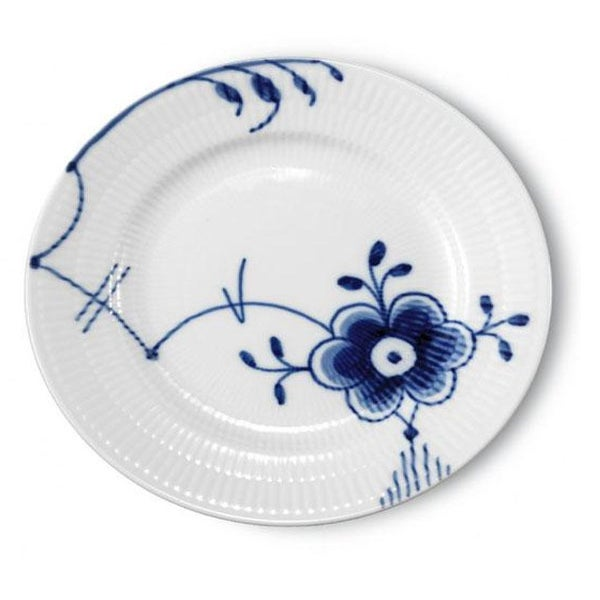 Image of Blue Fluted Mega -- Bread Plate I