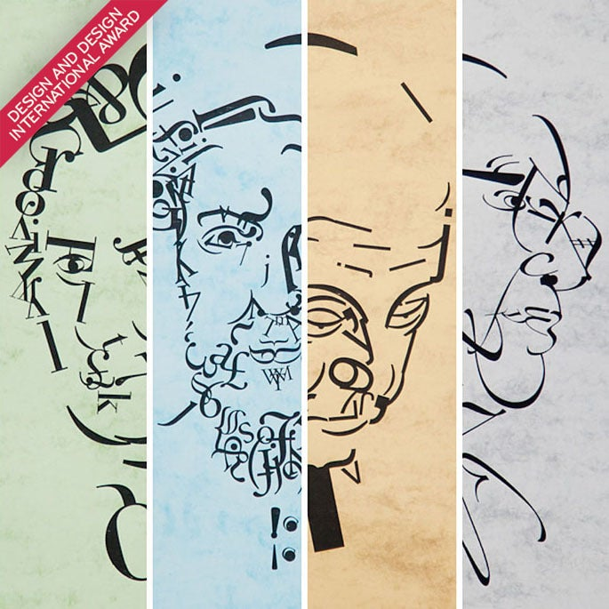 Image of The great typographers – Full series