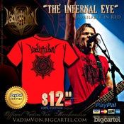 "Image of ""The Infernal Eye"" tee"