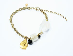 Image of birdhouse bracelet