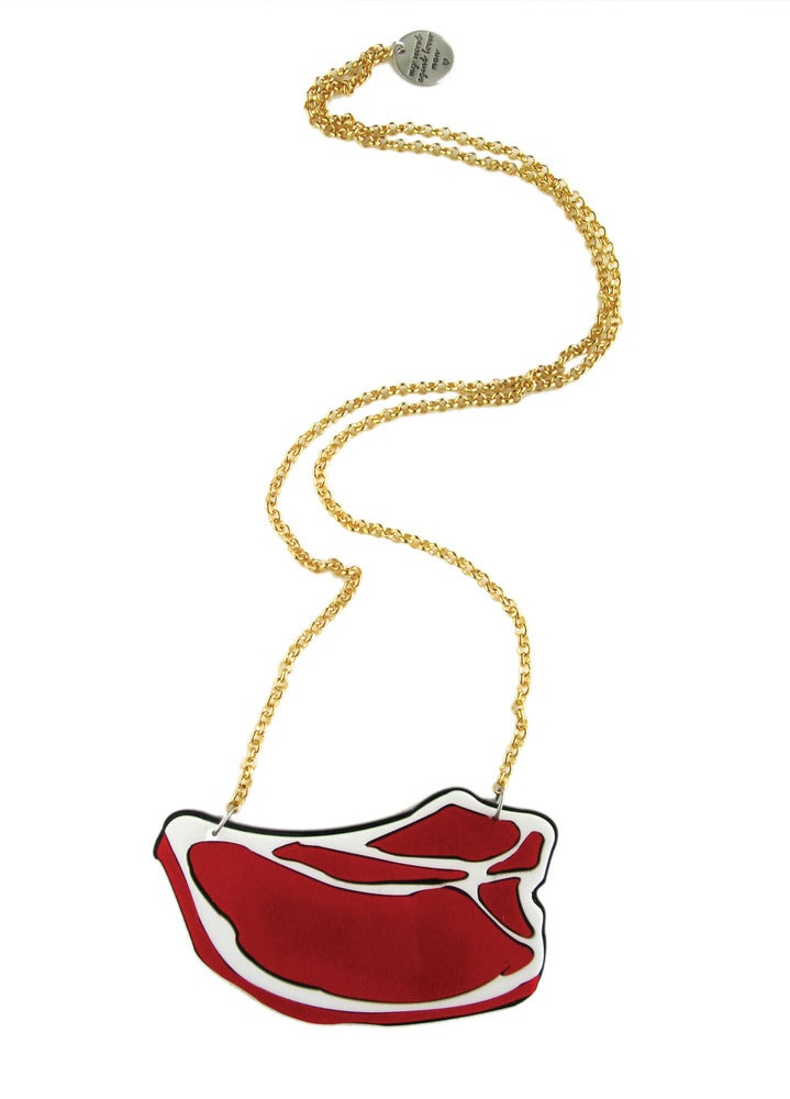 """Image of """"Piece of Meat"""" Necklace"""