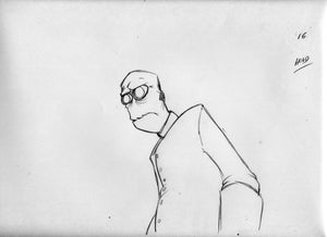 """Image of Animation Drawing from """"Masks"""" Sc 41 a-016"""