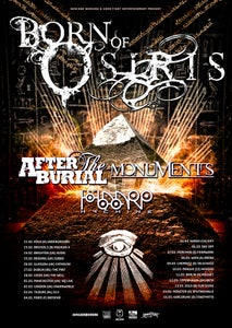 Image of BORN OF OSIRIS | AFTER THE BURIAL | MONUMENTS | THE HAARP MACHINE, @ AUDIO, BRIGHTON TICKETS
