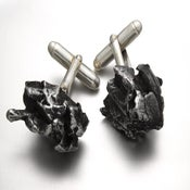 Image of Meteorite Cuff Links
