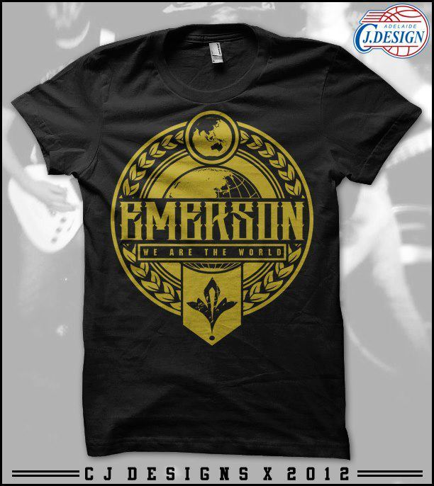 Image of Emerson - We Are The World Tee