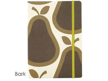 Image of ORLY KIELY PEAR NOTEBOOK BARK