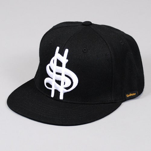Image of Old Money Snapback Cap (Black)