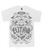 """Image of """"WITH LIONS' MIGHT"""" TEE [WHITE]"""