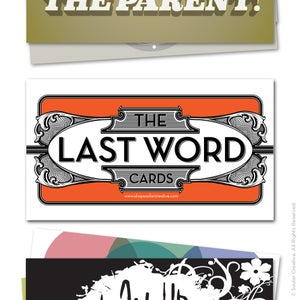 Image of Last Word Cards VOLUME I (pack of 24)