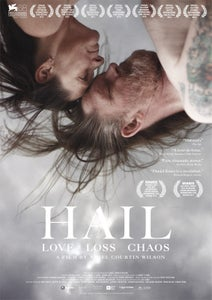 Image of OFFICIAL HAIL CINEMA POSTER *SIGNED*