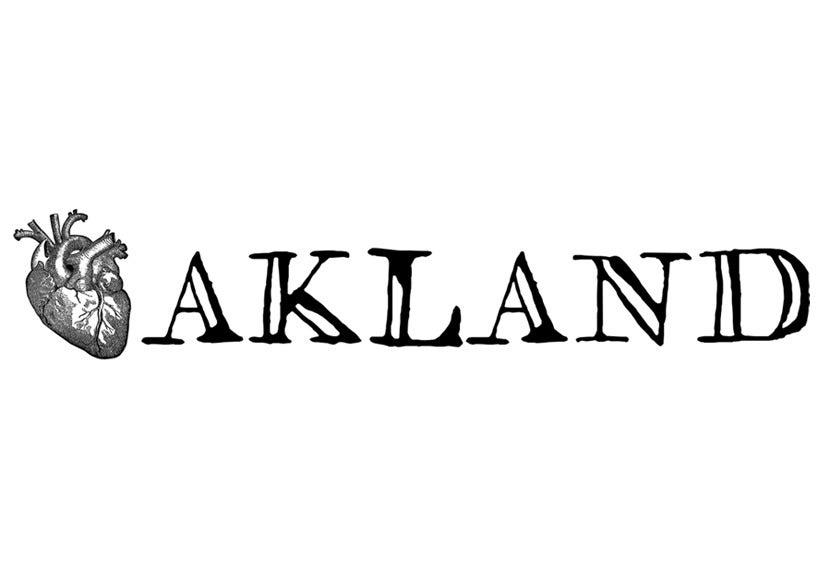 Image of I Heart Oakland - unisex/men's tee