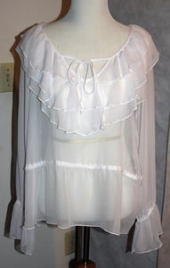 Image of Sheer White Top
