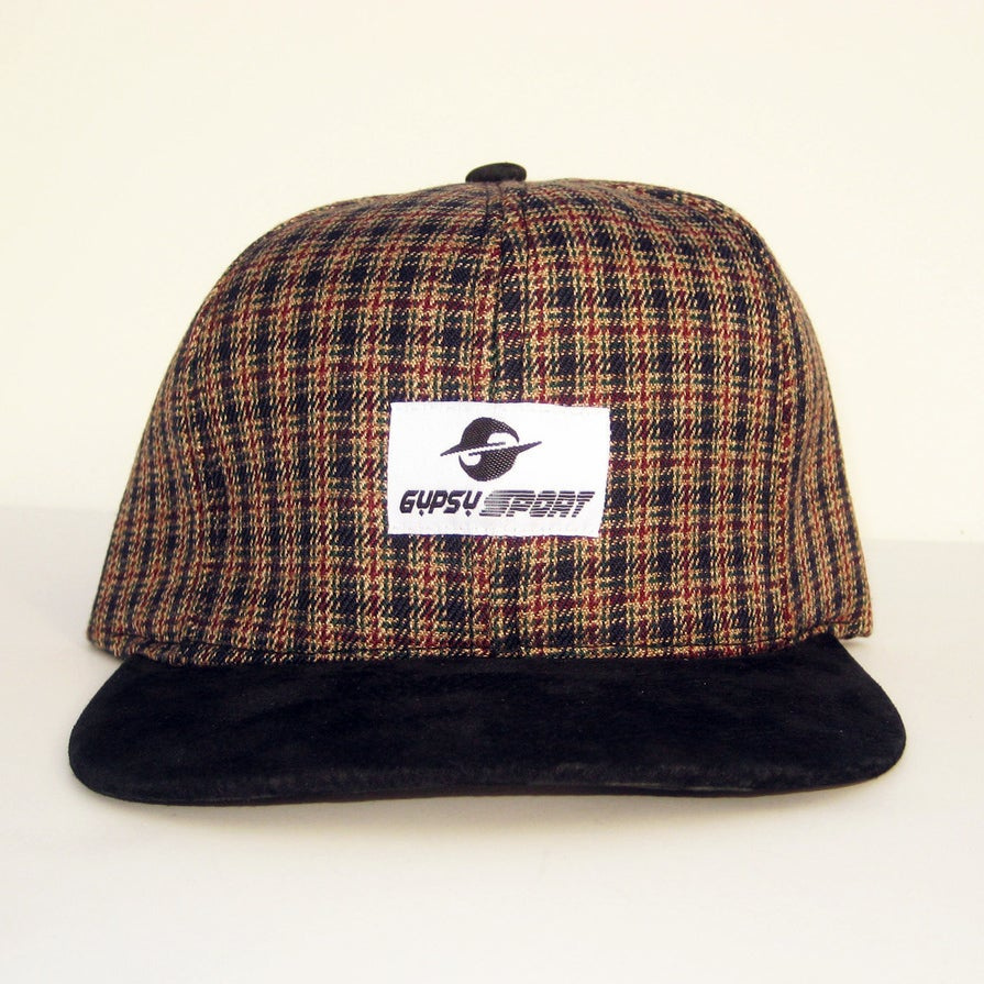 Image of OG Flannel Cap - Tan