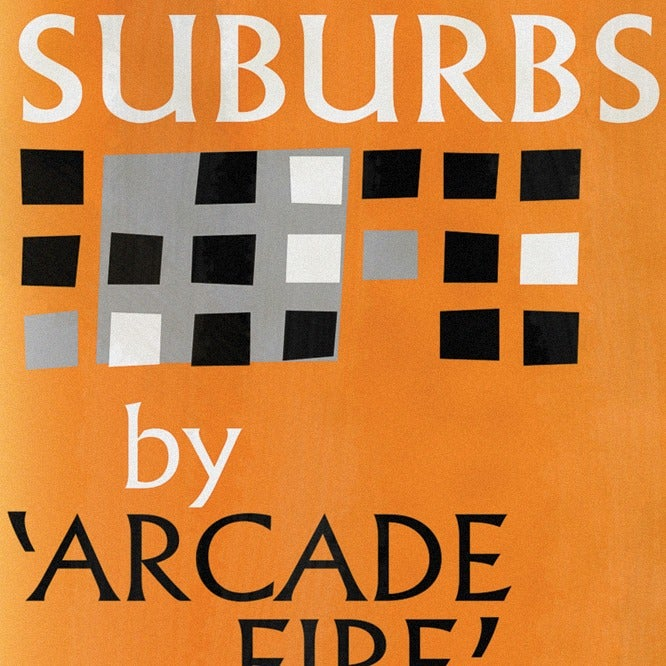 Image of The Suburbs Art Print
