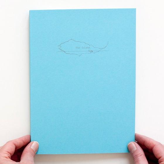 Image of The Island ltd.edition silkscreen-printed publication