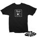 Image of ((SIKA x ibun)) ibun white/black widow T-shirt