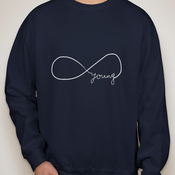 """Image of """"Forever Young"""" Crewneck"""