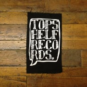"Image of Topshelf Records - 12 x 14"" Canvas Back Patch"