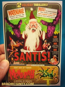 Image of SANTIS! Holiday Cards