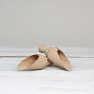 Image of Mini Wooden Scoops