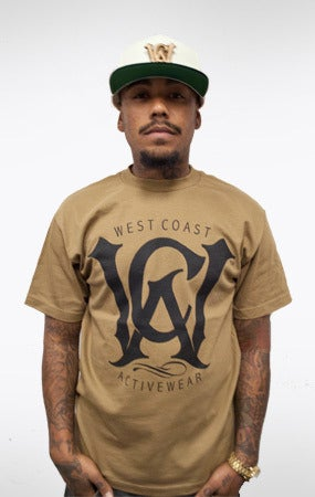Image of WCA Logo Tee (safari/black)