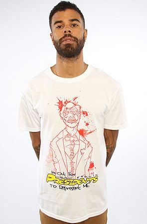 Image of Patriot's Pack Dead Prez Abe | Red on White