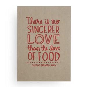 Image of Love of food, print