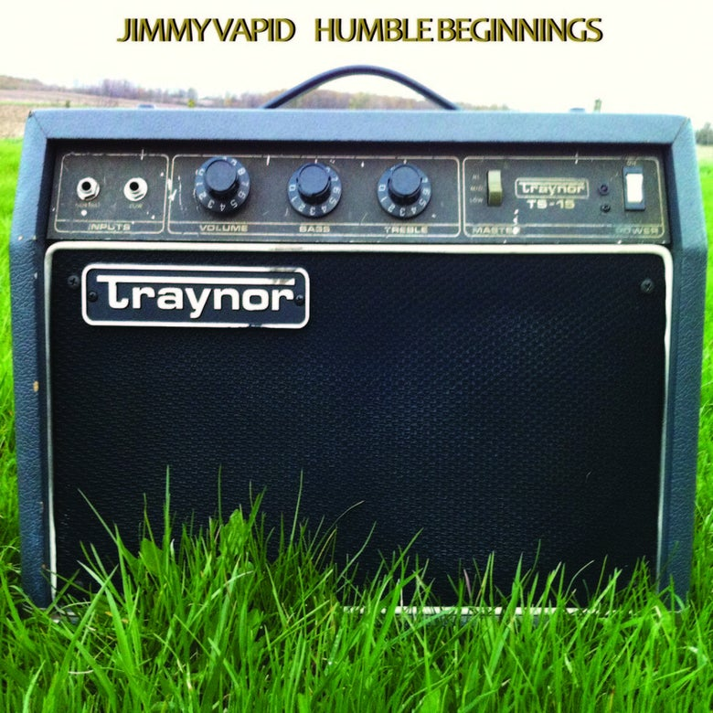 "Image of Jimmy Vapid Solo ""Humble Beginnings"" 7"" - OUT NOW!!!"