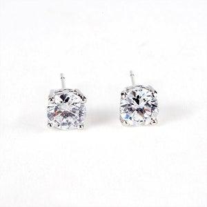 Image of SOPHIA - Crystal Solitaire Earrings
