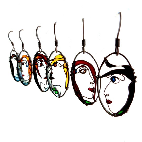 Image of Faces Earrings