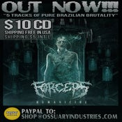 "Image of FORCEPS ""HUMANICIDE"" EP"