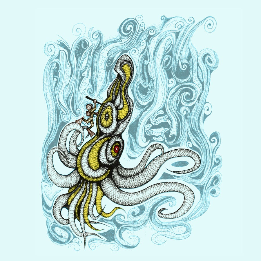 Image of Chutulhu (Pale Blue)